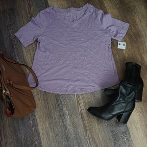 Chico's Lavender/Purple Tee Shirt